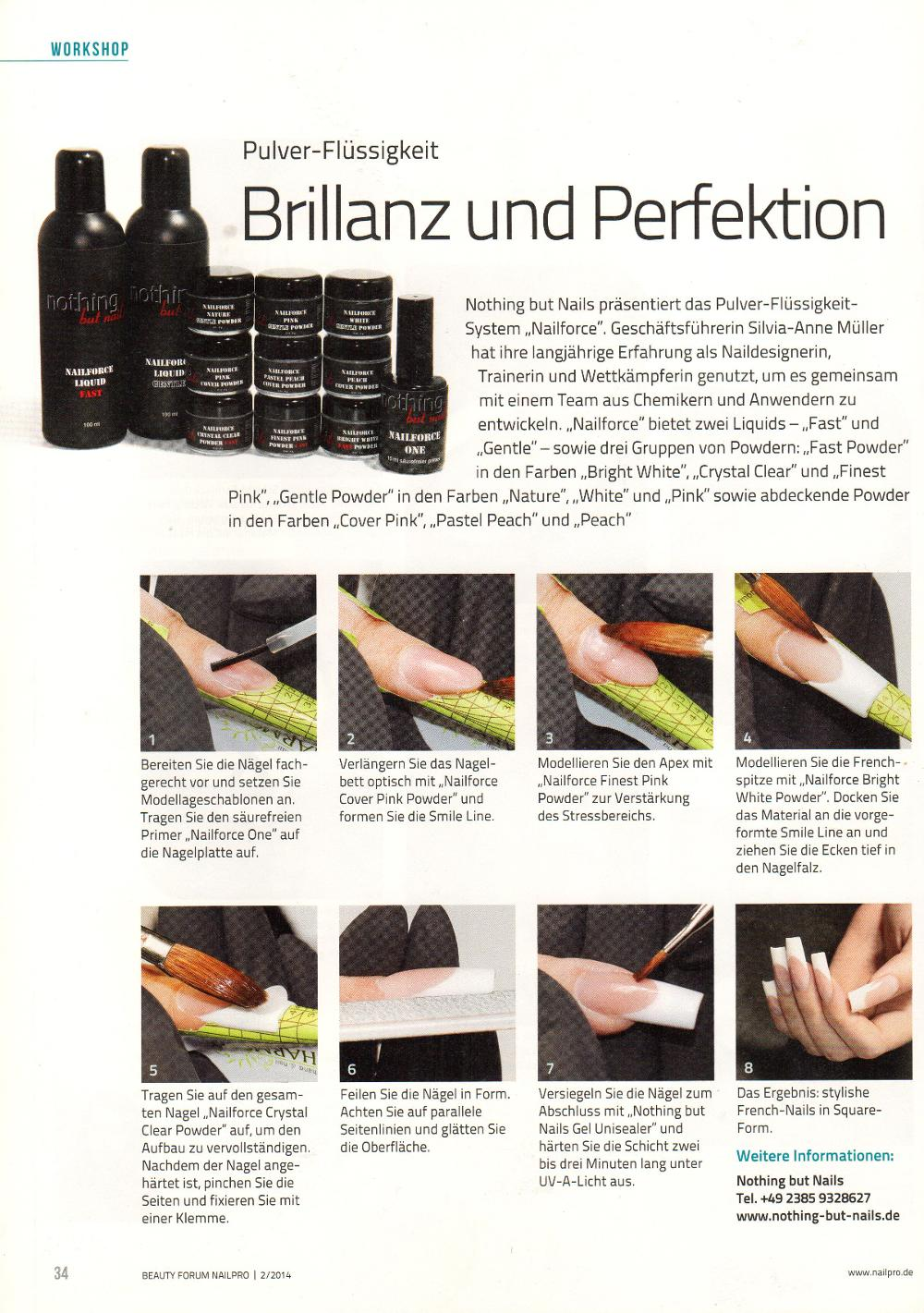 nothing but nails - presse